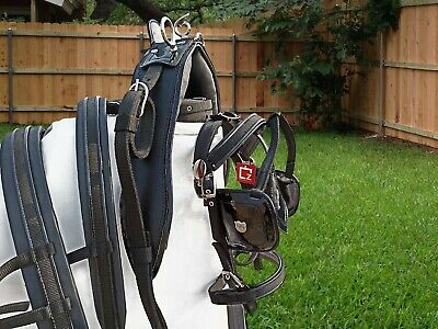 New Strong Driving Cart Harness Set Two Tone For Single Horse With Black / Black