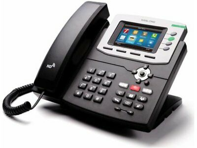 HTek 840P HTEK-UC840 Color HD IP VoIP Business Phone w/ Power Supply - BRAND NEW