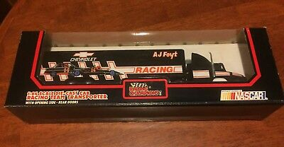 Racing Champions 1:64 Scale. Aj Foyt. Racing Team Transporter. Nascar.