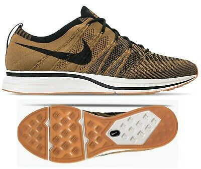 online store c7ad2 cbef8 New NIKE FLYKNIT Mens Trainer Running Sneakers shoes beige gold black all  sizes