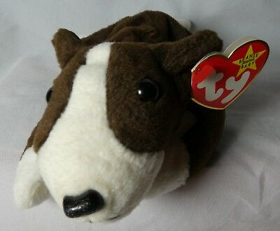 69816afc23a TY Beanie Baby named BRUNO Style  04183. Intro 12 31 97 Retired