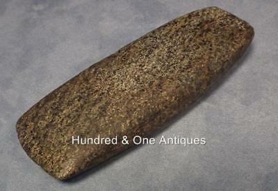 Antique Pre-Columbian Large Stone Celt Axe Mayan Post-Classic A.D.900-1500 Maya