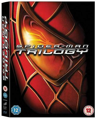 Spider-Man Trilogy Collection 1-3 (Blu-ray, 3 Discs, Region Free) *NEW/SEALED*
