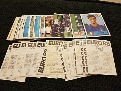 Panini Euro 88 Stickers - complete your album - Special Offer
