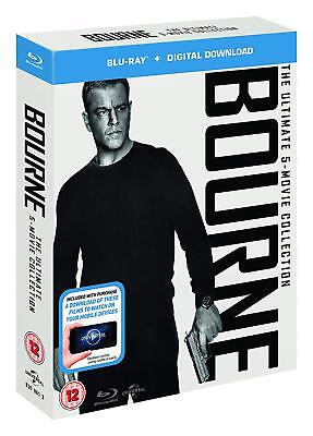 The Bourne Ultimate Complete Collection [1-5] (Blu-ray, 5 Discs, Region Free)
