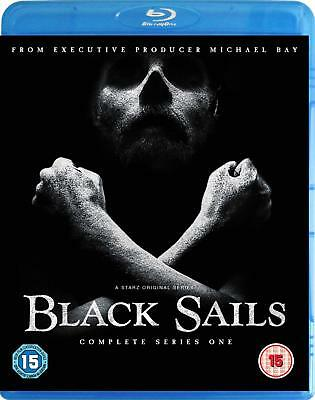 Black Sails - Season / Series 1 (Blu-ray, 3 Discs, Region Free) *NEW/SEALED*