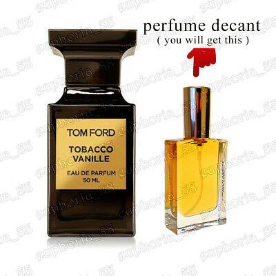 Tobacco Vanille by Tom Ford Perfumes EDP Unisex Niche Decanted Spray Perfume