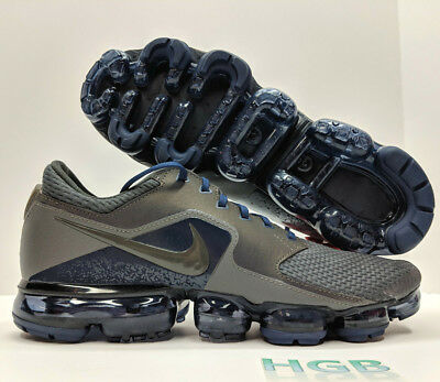 Nike Air Vapormax R Mens Midnight Fog Grey Blue Running Refective AJ4469-002 NIB