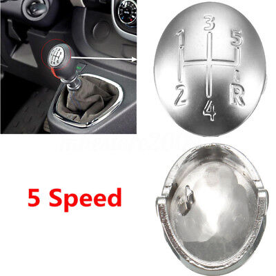 5 Speed Gear Shift Knob Cap Embedded Cover Insert For Renault Clio Megane