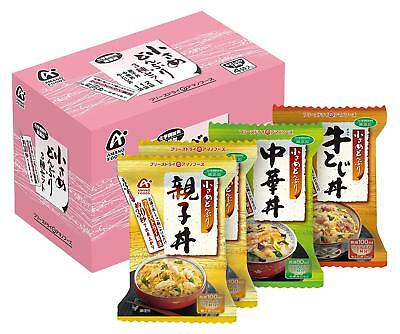 Amano Foods Rice Soup Japanese Donburi 3 Types From Japan