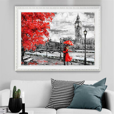 Unframed London Big Ben Lover Canvas Painting Print Home Wall Picture Home