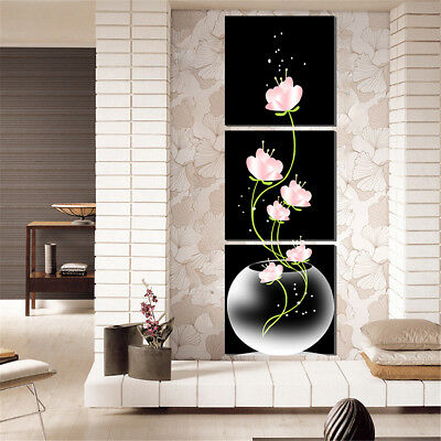 3Pcs Modern Abstract Art Canvas Painting Print Home Office Wall Picture Decor 1