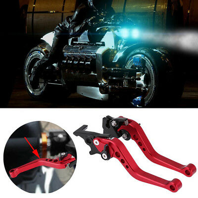 Pair Eye-catching 22mm CNC Aluminum Motorcycle Clutch Brake Lever Handle SYF