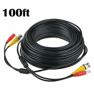 Fite ON 25ft BNC Video Power Cord for Samsung Camera Cable SDS-P5100 SDS-P5101