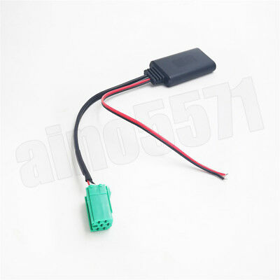 Bluetooth Adapter AUX Kabel Stereo Radio For Renault Clio Kangoo Megane Scenic