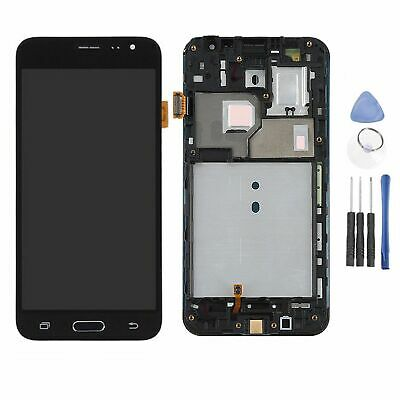 Für Samsung Galaxy J3 2016 SM-J320FN Touch Screen Digitizer + LCD Display+Rahmen