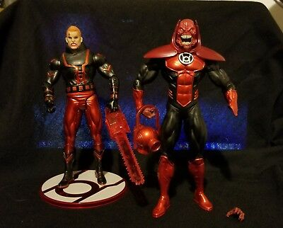 DC Direct Blackest Night Red Lantern Atrocitus & Guy Gardner Figure