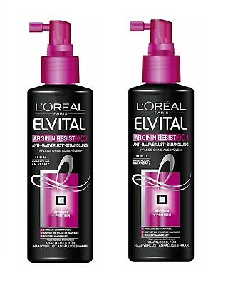 L'Oreal Elvive Arginine Resist Anti Hair-Fall Spray 2 x 200ml