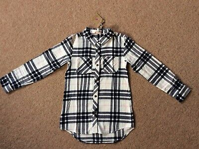 Joules Dixie Checked Girls Shirt BNWT Few Sizes available