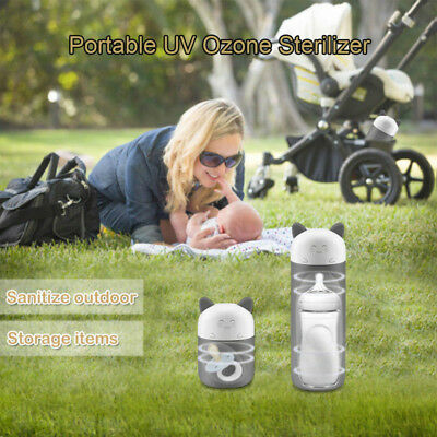Baby's Portable UV Ozone Sterilizer Outdoor Travel Sanitizer For Bottle Pacifier