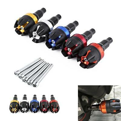 Universal Motorcycle Frame Slider Falling Protector Anti Crash Caps 5-Color