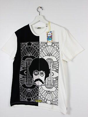 db070d9c3 WRANGLER x PETER MAX TEES T-SHIRT COSMIC MAX WHITE BLACK PREMIUM COTTON S/