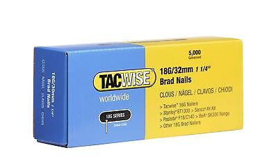 Tacwise Brad Nails (Boxed 5000) 18g/32mm