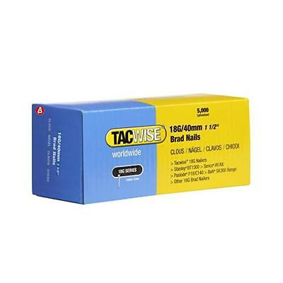 Tacwise Brad Nails (Boxed 5000) 18g/40mm 1 1/2'' (0400)