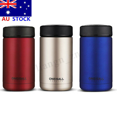 400ml Stainless Steel Vacuum Flasks Hot Water Bottle Thermos Coffee Mug Cup Gift