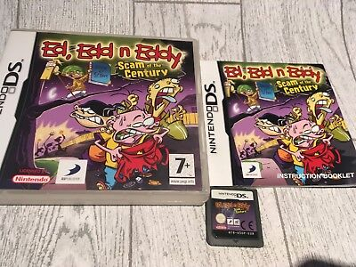 Ed, Edd and Eddy: Scam of the Century for Nintendo DS / DSi Game Complete