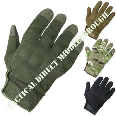 Recon Tactical Gloves Mens Armoured Shell Knuckle Army Shooting Bikers Airsoft