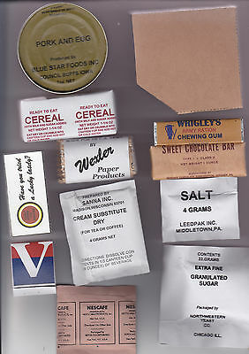 Repro Late War Ww2 Us K Ration Breakfast Meal And Boxes
