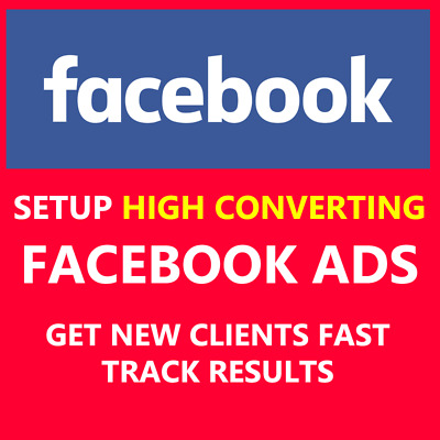 Set up HIGH Converting Facebook Ads Campaing Management | Not Seo Backlinks Pr
