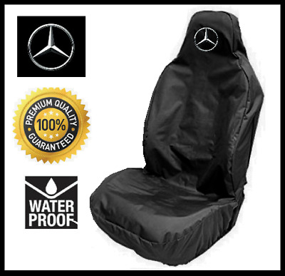 MERCEDES BENZ Car Seat Cover Protector Heavy Duty x1 - Mercedes CLA AMG
