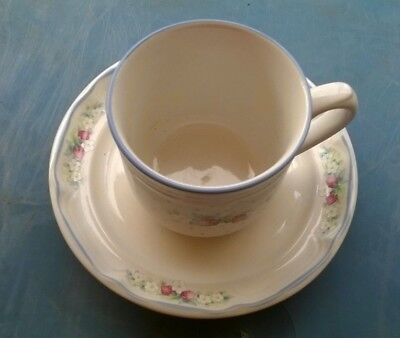 International  ~ Strawberry Lane ~ Tea cups and saucers 3 of each