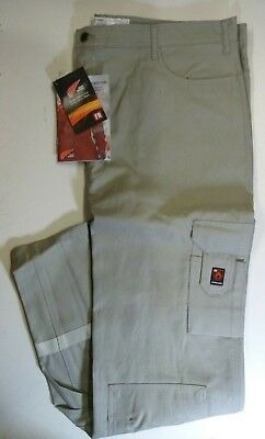 Red Wing Fire Flame Resistant Hi Vis Anti Static Grey Jeans Style Work Trousers