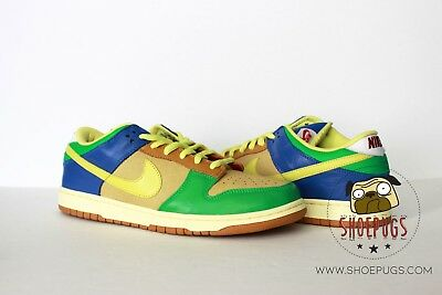 new style 5e88f 1e74c 2009 DS Nike Dunk SB Low Brooklyn Projects sz 12 halo zitron  TRUSTED  SELLER!