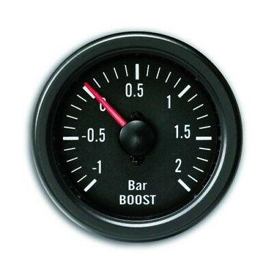 Manometre YoungTimer, pression de turbo, boost, noir, Diametre 52mm