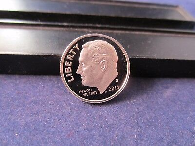 2014-S Silver Roosevelt Dimes Deep Cameo Mirror Proof - Upper Grading Ranges