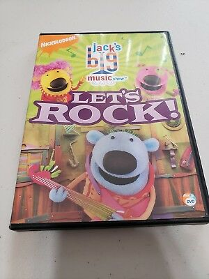 DVD Jack's Big Music Show Let's Rock 2007 Nick Jr Nickelodeon