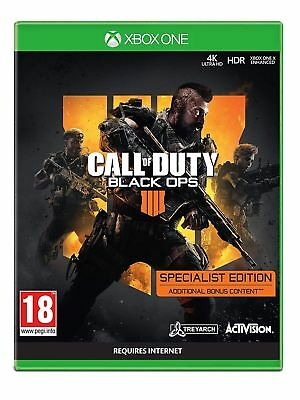 Call of Duty Black Ops 4 Specialist Edition Xbox One Brand New Sealed Official