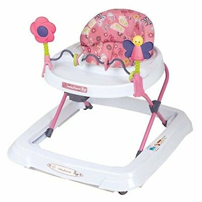 Baby Walker Height Adjustable Girl Toy Bar 0 12 Months Play Folding Gift New