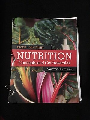 Nutrition Concepts And Controversies Frances Sizer Ellie Whitney