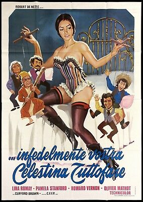 Lina romay pamela stanford celestine maid at your