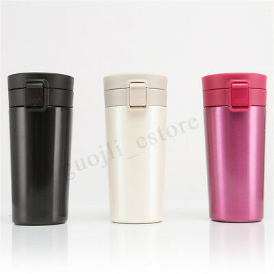 500ML Stainless Steel Vacuum Insulation Mug Coffee Thermos Travel Bottle Cup