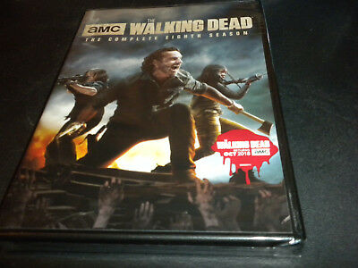 The Walking Dead: The Complete Eighth Season (Brand New, DVD, 5-Disc Set)