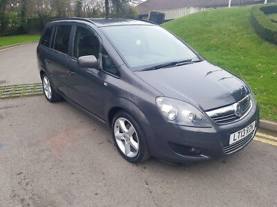 SOLD SOLD 2013 Vauxhall Zafira Exclusive 7 Seater  MPV Petrol