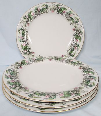 Craftsman China Made in Japan 173 Fairy Blossoms Dinner Plate set of 4