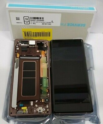 Samsung galaxy Note 9 LCD Display Screen Digitize Replacement Frame Note 8 N960