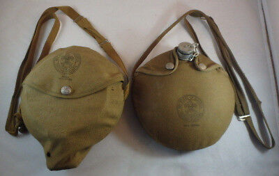 Pair of Vintage BSA/Boy Scout Canteen & Mess Kit